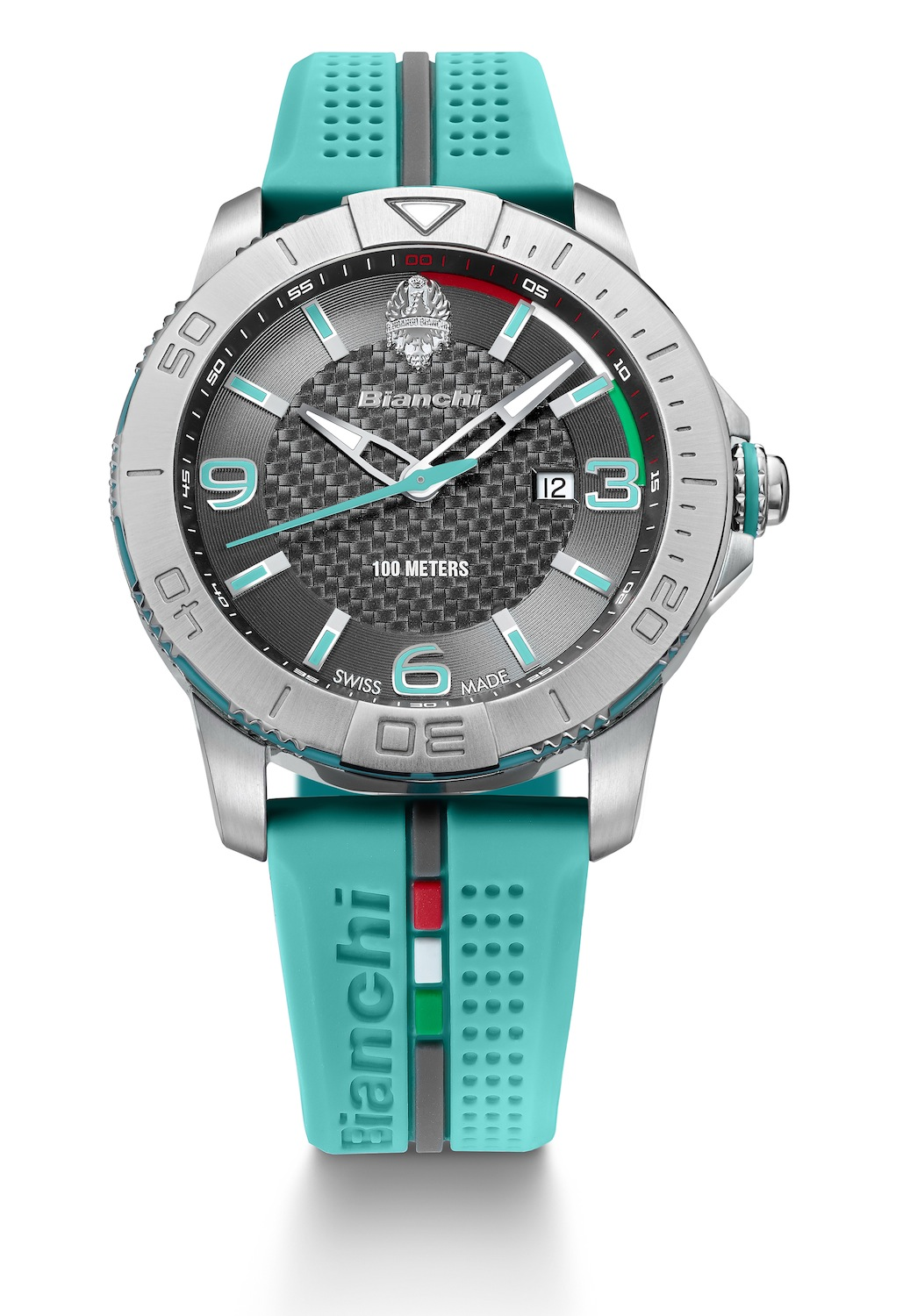 Reloj Bianchi Celeste 43mm Swiss Made