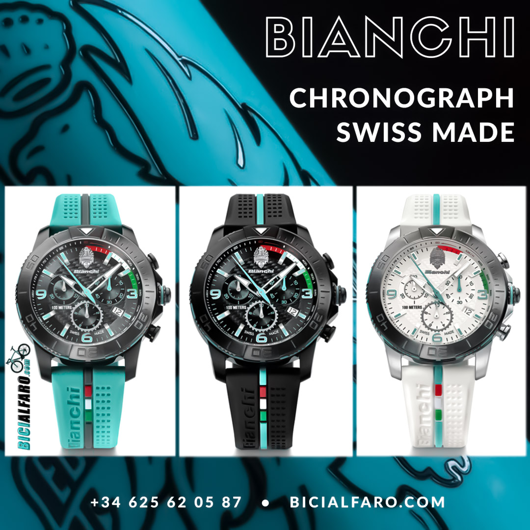 Reloj Bianchi 43mm Chronograph Swiss Made